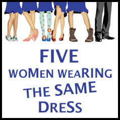 Five Women Wearing the Same Dress at Kettle Moraine Playhouse